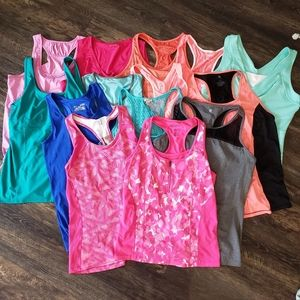 Large Lot of 14 Size XL Sleeveless Tops